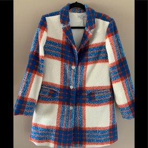 Isaac Mizrahi Live! Plaid Coat
